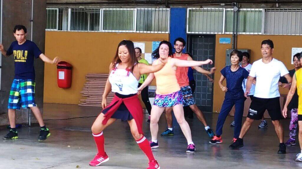 Cartão Vermelho Fitness Dance Profª Érica 07 de abril de 2018.
