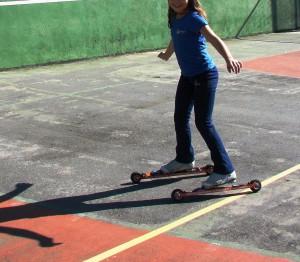 Clínica de Rollerski promoveu modalidade no Cepeusp
