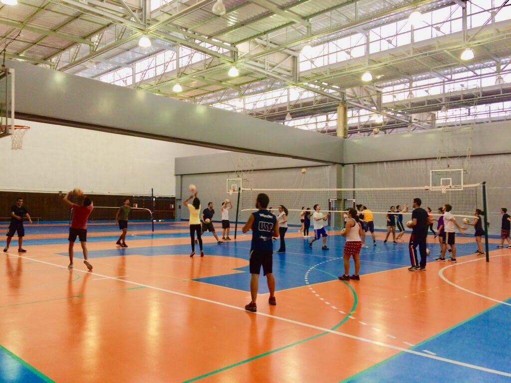 Workshop Voleibol-Profs. Ana Cristina e José Carlos. 04 de maio.